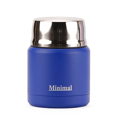 Minimal Insulated Food Jar, 360 mL, Blue