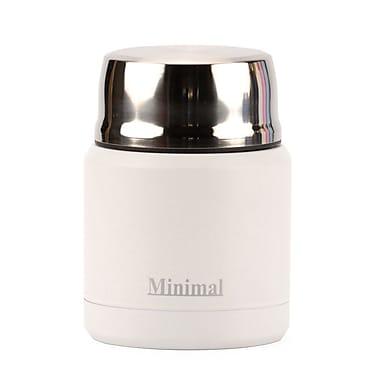 Minimal Insulated Food Jar, 360 mL, White