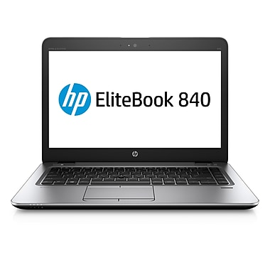 HP-Portatif EliteBook 840 G3 14po, Intel Core i5-6300U 2,4GHz, RAM 8Go, SSD 128 Go, Windows 10 Pro 64, T6F45UT#ABA