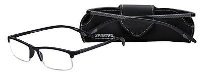 Select-A-Vision Sportex High Performance +2.75 Reading Glasses, Grey (EAR4150GY-275)