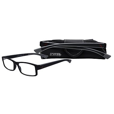 Select-A-Vision Sportex High Performance +1.50 Reading Glasses, Grey (EAR4160GY-150)