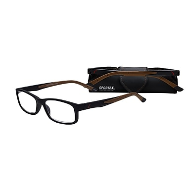 Select-A-Vision Sportex High Performance +2.75 Reading Glasses, Brown (EAR4161BN-275)