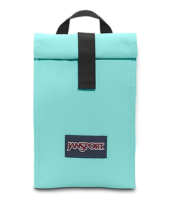 Jansport Roll Top Lunch Bag, Aqua Dash