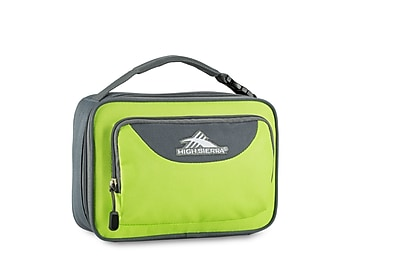 High Sierra Single Compartment Lunch Bag, Lime Green/Slate Grey (74715-4962)