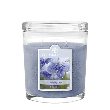 Colonial Candle 8 oz. Jar, Morning Dew, 2/Pack (CC084651 )