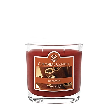 Colonial Candle 3.5 oz. Jar, Cinnamon, 2/Pack (CC0358847)