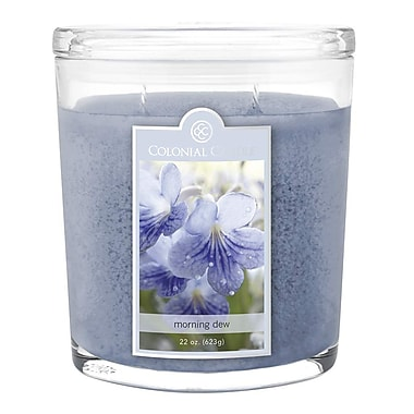 Colonial Candle 22 oz. Jar, Morning Dew, 1/Pack (CC0224651)