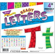 "TREND Friendly Combo Ready Letters, 4"", Patchwork"