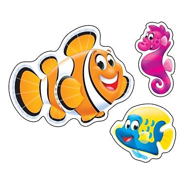 TREND superShapes Stickers, Large, Sea Buddies™, 160/Pack