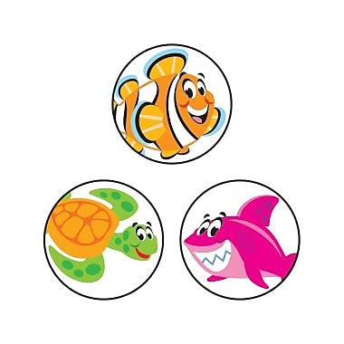 TREND superSpots® Stickers, Sea Buddies™, 800/Pack
