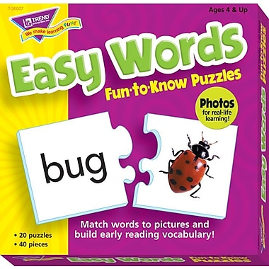 TREND Easy Words Fun-to-Know Puzzle