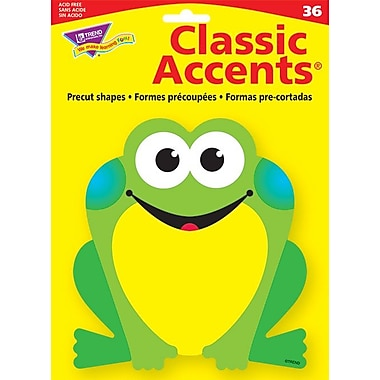 TREND Classic Accents, Frog, 36/Pack