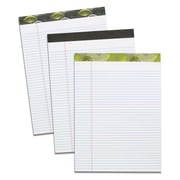 "TOPS Single Fashion Writing Pad, 8-1/2"" x 11-3/4"", Narrow-Ruled, White, 50 Sheets"