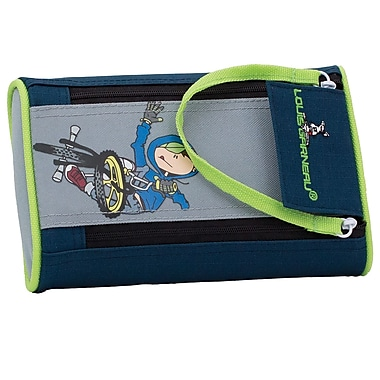 Louis Garneau 2-Zipper Pencil Case, BMX