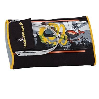 Louis Garneau 2-Zipper Pencil Case, Ninja