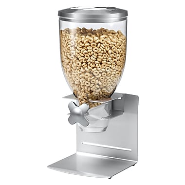 Honey-Can-Do Prof. Edition Single Dispenser, Silver (KCH-06153)