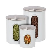 Honey Can Do KCH-06428 3 piece nested canister combo