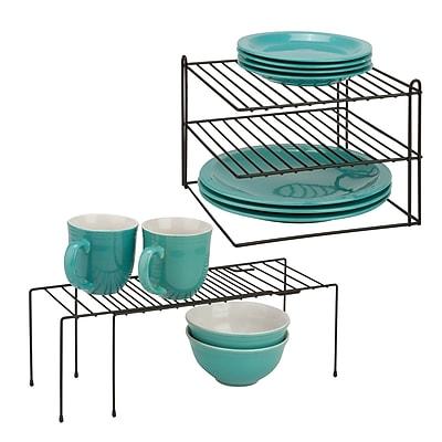 Honey Can Do KCHX06524 Coated Wire Corner Shelf
