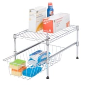 Honey Can Do SHF-03525 Urban Style Shelving With Removable Basket
