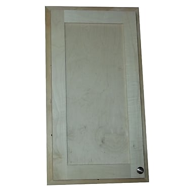 WG Wood Products 37'' Breaker Panel Access Frame and Door