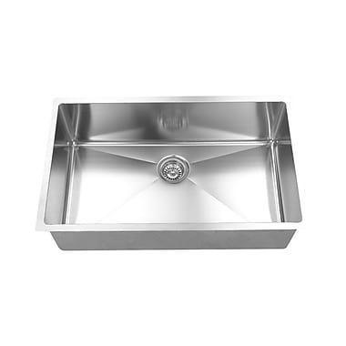 Boann 32'' x 19'' x 10'' Kitchen Sink