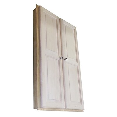 WG Wood Products Baldwin 29.5'' x 49.5'' Wall Mounted Cabinet