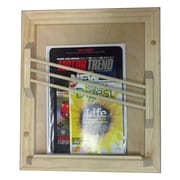 WG Wood Products Contemporary Magazine Rack