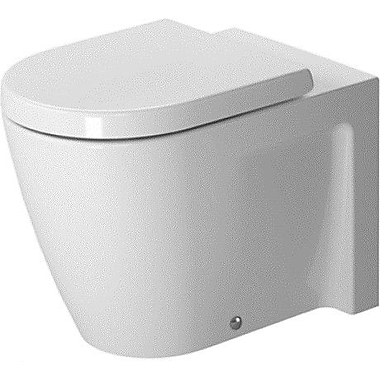 Duravit Starck 2 Floor Standing Back to Wall Round Toilet Bowl
