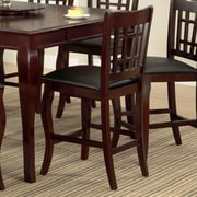 Milton Green Star Burgos 24'' Bar Stool; Cherry