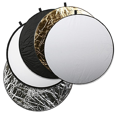 Square Perfect 5- in- 1-Light Multi Collapsible Photo Disc Reflector