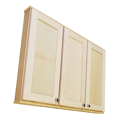WG Wood Products Shaker Series 43'' x 37.5'' Wall Mounted Cabinet