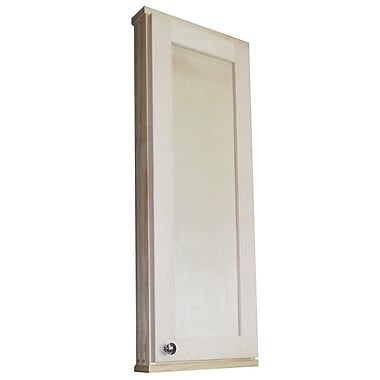 WG Wood Products Shaker Series 15'' x 37.5'' Wall Mounted Cabinet