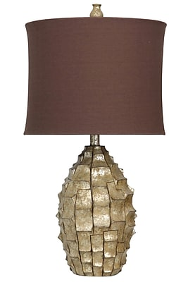 Harp and Finial Brisbane 34.5'' Table Lamp