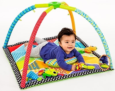 Infantino Pond Pals Twist And Fold Activity Gym And Play Mat WYF078279107485