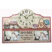 Creative Motion Home - The Happiness of Each Family Wall Clock