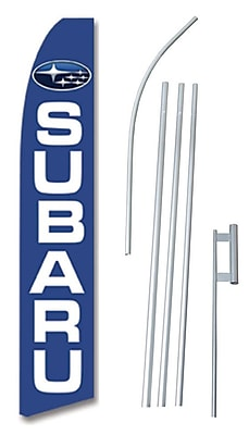 NeoPlex Subaru Swooper Flag and Flagpole Set