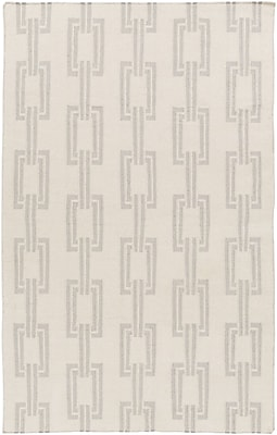Somerset Bay Boardwalk Gray/Light Gray Area Rug; 5' x 8'