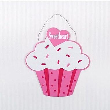 Adams & Co Sweetheart Hanging Cupcake Wall D cor