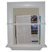WG Wood Products On The Wall Magazine Rack