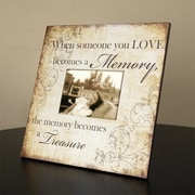 Adams & Co When Someone You Love Wood Picture Frame