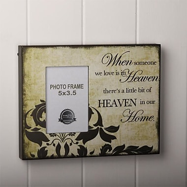 Adams & Co When Someone You Love Wood Picture Frame; 10.5'' H x 3.5'' W x 1'' D