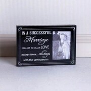 Adams & Co A Successful Marriage Wood Picture Frame