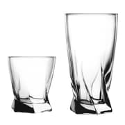 Anchor Hocking Sybil 16 Piece Drinkware Set by