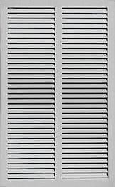Shutters By Design 76'' W Pine Primed Bermuda / Bahama Shutter; 102'' H x 76'' W