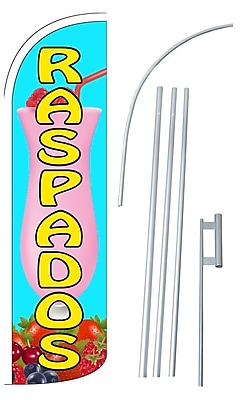 NeoPlex Raspados Swooper Flag and Flagpole Set WYF078279108222