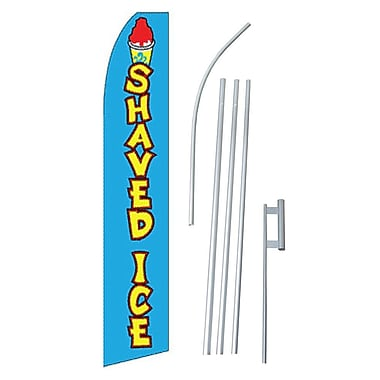 NeoPlex Shaved Ice Swooper Flag and Flagpole Set