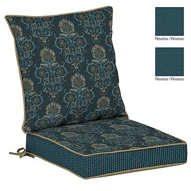 BombayOutdoors Anatolia Outdoor Reversible Dining Chair Cushion