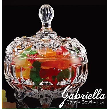 Crystal Clear Gabriella Candy Bowl