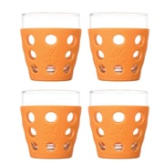 Lifefactory Everyday 10 oz. Juice Glass (Set of 4); Orange