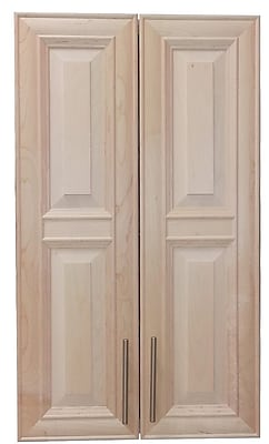 WG Wood Products Overton 21'' x 42'' Wall Mounted Cabinet; Unfinished